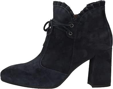 Nero Giardini A909431DE Blu Stivali alla Caviglia Donna