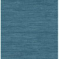 Brewster Wallcovering Co FD23286 Sea Grass Blue Faux Grasscloth Wallpaper, by Brewster Wallcovering Co