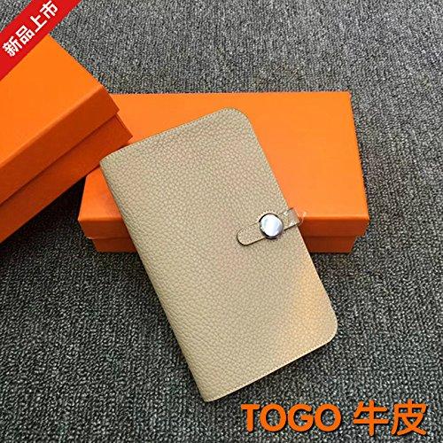 GUNAINDMX Geldbörse Geldbeutel Portemonnaie Wallet Passport Holder Lange Brieftasche Schlank Velcro Wallet Clutch,Colorblock 6 (Colorblock Clutch)