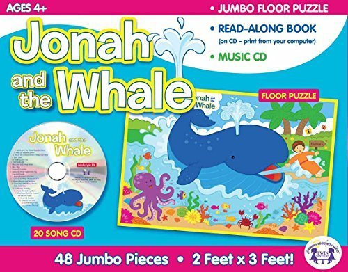 Jonah & The Whale Giant Floor Puzzle & CD (I'm Learning the Bible Floor Puzzle) by Twin Sisters® (2013-01-01)