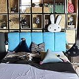 YIWANGO Nachtkissen Weiche Tasche Schlafsofa Rückenlehne/Doppelseitige Verwendung/Abnehmbare Wäsche/Multi-Size Optional,H-120 * 50cm