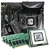 Intel Core i9-7980XE / ASUS ROG STRIX X299-E Gaming Mainboard Bundle / 128GB | CSL PC Aufrüstkit | Intel Core i9-7980XE 18x 2600 MHz, 128GB DDR4-RAM, Wakü, GigLAN, 7.1 Sound, USB 3.1 Gen2 | Aufrüstset