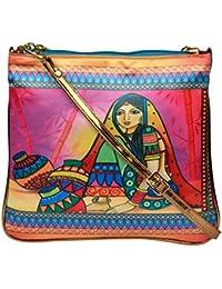 All Things Sundar Womens Sling Bag / Cross Body Bag - S07 - 02
