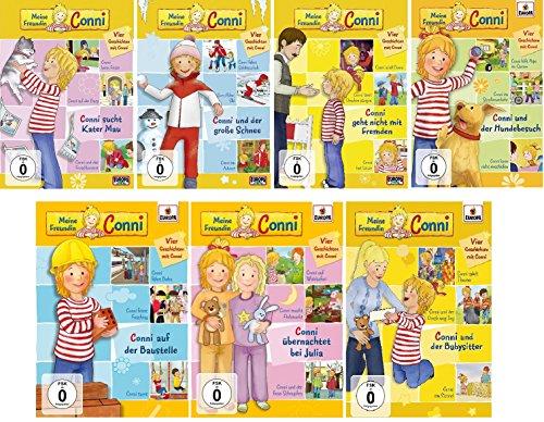Meine Freundin Conni - DVD / Folge 7-13 im Set - Deutsche Originalware [12 DVDs]