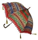 Ethnic Designer Silk Kids Parasol Umbrel...