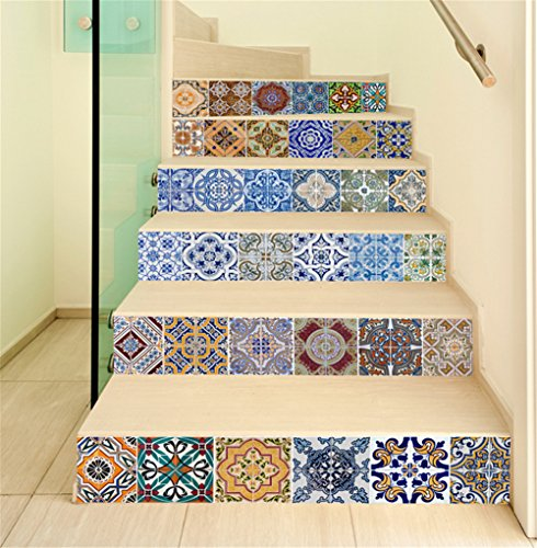MeetYours Carrelage Sticker Autocollants Escalier Sticker pour ...
