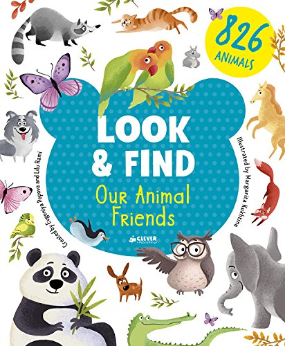 Our Animal Friends (Look & Find) por Clever Publishing