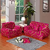 JY$ ZB Home decoration combination sofa cover four seasons all - inclusive anti - skid stretch full cover fabric sofa cover , 2 , 190*230cm three