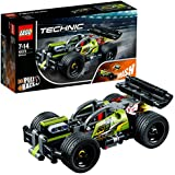LEGO 42072 Technic Impulse WHACK! Racing Car Toy, Pull-Back Motor, 2 in 1 Advanced Building Set