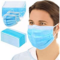 GreatDio® Non Woven Fabric 3 Layer Pollution Face Dust Surgical Disposable Mask (25 Pack)