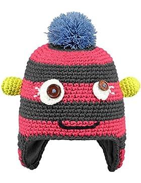 cappello barts mostro occhi bottoni fatto a mano