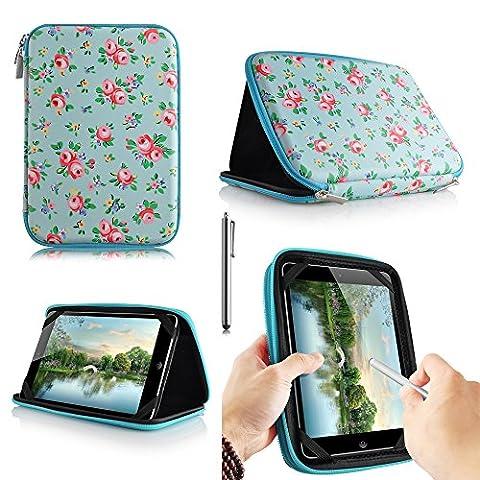 casezilla A2017,8cm Mid Apad ePad Netbook Tablet Universal EVA Hartschale Folio Tablet Fall Rosen Android Tablet 7 Inch Tablet