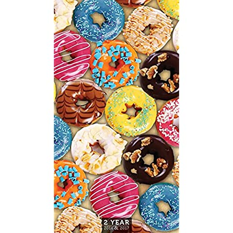 Donuts 2016-Planner mensile tasca di TF Publishing