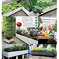 Inchant Aggiornato Creative Design di alta qualità in plastica vegetale alzato Garden Bed panoramica all
