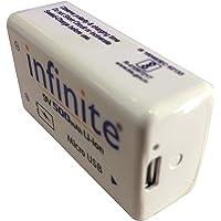 Envie Infinite 9V 500 Mah Li-ion Rechargeable Battery ERB 9V MU