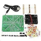 Ladicha Diy Led-Lampe Kit Led-Flash-Set Elektronische Produktion Kit