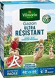 Vilmorin 4462414 Gazon Ultra Résistant Vert, 1 kg