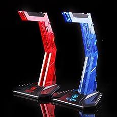 Rishil World Sades Gaming Sport Headphone Stand Earphone Holder Display Headset Hanger Bracket