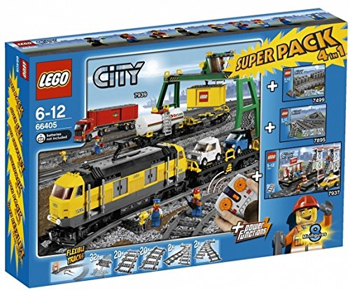 LEGO City – 66405 – Spiel-Bau – Super Pack – City Zug