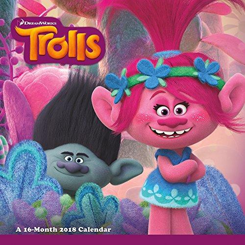 Trolls 2018 Calendario