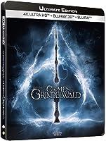 Les Animaux fantastiques : Les Crimes de Grindelwald [4K Ultra HD Édition boîtier SteelBook limitée]