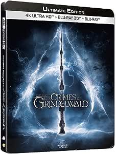 Les Animaux fantastiques : Les Crimes de Grindelwald [4K Édition [U fltimate Edition-4K Ultra HD 3D Blu-Ray Version Longue-Boîtier SteelBook Limité]