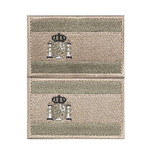 Imagen de envio 24h 2 parches velcro x españa bandera táctico bandera con velcro podría ser pegado a la ropa, chaleco, , mochila directamente od 3628