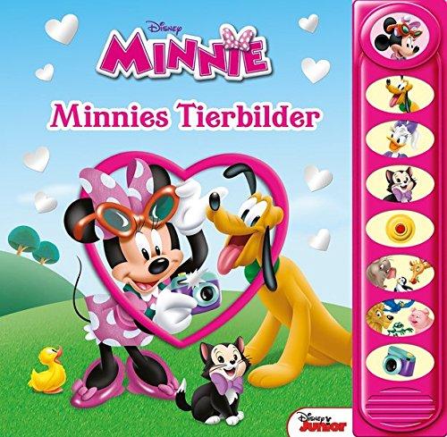 Minnies Tierbilder - 8-Button-Soundbuch