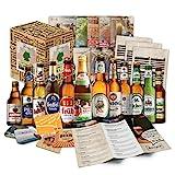 ''Biere del Mundo regalo + + Información de cerveza + + Catas de instrucciones + + cerveza Tapa. Hombres de cumpleaños/Navidad/día del padre. El regalo inusual y especiales