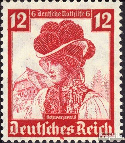 Deutsches Reich 593 1935 Volkstrachten (Briefmarken für (Französische Volkstrachten)