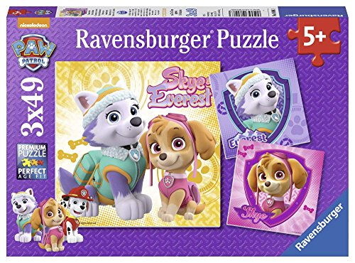 Ravensburger 08008 Lizenz Paw Patrol Bezaubernde Hundemädchen (Patrol Paw Spiel)