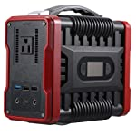 Lixada 250W Portable Power Supply Solar Generator Emergency Power Station 6000mAh Rechargeable Lithium Battery Outdoors...