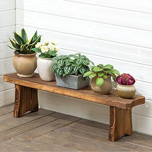 ZHEN GUO Minimalistische Pine Wood Plant Stand, Heavy Duty Holz Topf Blumen Display Halter, L31.5-Zoll (größe : 80x17x22cm) -
