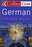 German Phrase Book (Collins Gem)