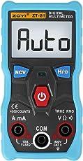 UNI-T ZT-S1 4000 Hand-Multimeter, true-RMS Digital-Multimeter,Echteffektivwert, Blau + Grau