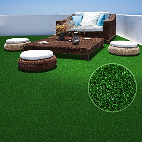 casa pura Erba sintetica Spring | Prato sintetico | Per giardino e balcone | Drenante | Interno/esterno | Al metro | 200x100 cm | Verde