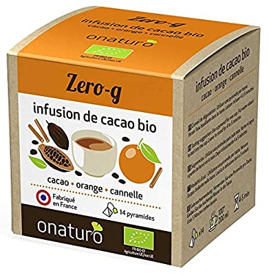 Infusion 100% cacao, orange, cannelle