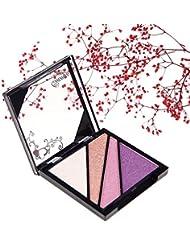 Qianyu Professional Ultra Shimmer 4 Color Eye Shadow Eyeshadow Palette Eyeshadow Makeup Cosmetic 1#