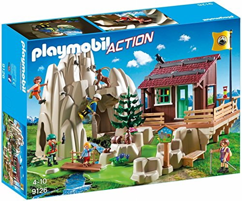 PLAYMOBIL-Escaladores con Refugio