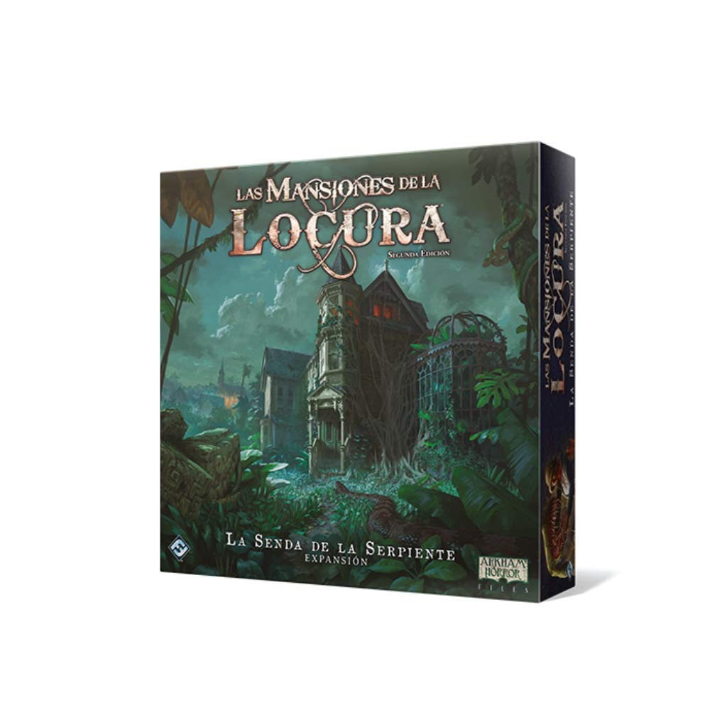 Fantasy Flight Games-Las Mansiones de la Locura-La Senda de la Serpiente, Color (FFMAD28)