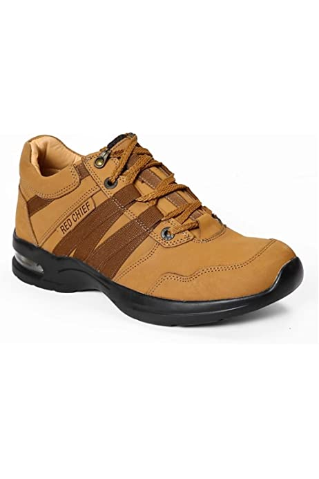 Buy Red Chief Men's Leather Sneakers RC