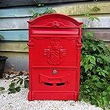 HZB Imprägniernde Mailbox im Freien für europäische Landhaus-Briefkasten-Wandbehänge