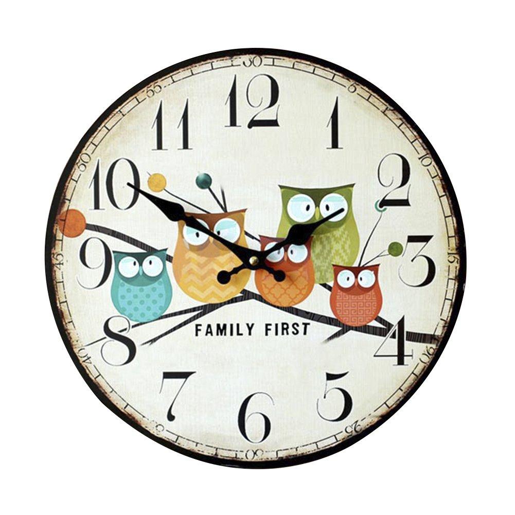 Charmant Eule Uhr Kinderzimmer Ideen - Die Designideen für ...
