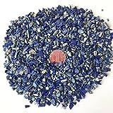 AITELEI 1 lb natürliche Lapis Lazuli zerkleinerte Stein Healing Reiki Kristall unregelmäßige geformte Steine Schmuck machen Heimtextilien