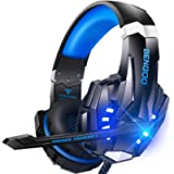 BENGOO G9000 Stereo Gaming Headset for PS5 PS4, PC, Xbox One Controller, Noise Cancelling Over Ear Headphones with Mic…