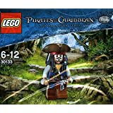 LEGO 30133 Pirates of the Caribbean / Fluch der Karibik: Captain Jack Sparrow (Dreispitz) im Polybeutel