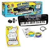 eMedia EK99171 mid-size, 49-key -Key Portable Keyboard