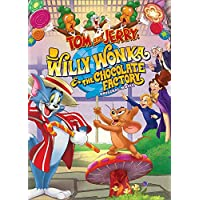 ‏‪Tom Jerry Willy Wonka And The Chocolate Factory (2017) (DVD)‬‏