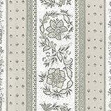 Stoff Meterware Baumwolle - Provençal Streifen Blumenstoff