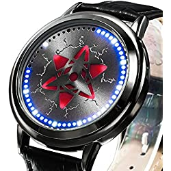 XINGYUNSHI Boys Watch Anime Touch Screen LED Watch Blue Light-928799